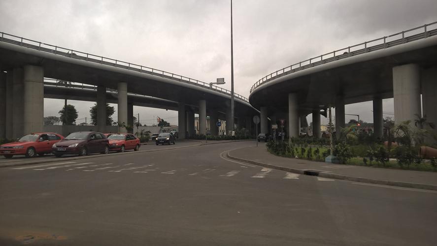 Le nouvel échangeur édifié à Abidjan et doit assurer la fluidité des transports