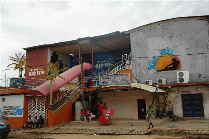 Exemple de Maquis dans la commune de Yopougon