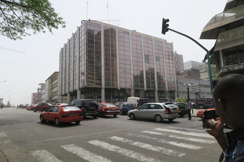 Les immeubles abritant des banques africaines