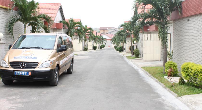 Une résidence d'habitation de familles aisées à Cocody. La construction a été élaborée par une société de logements sociaux.