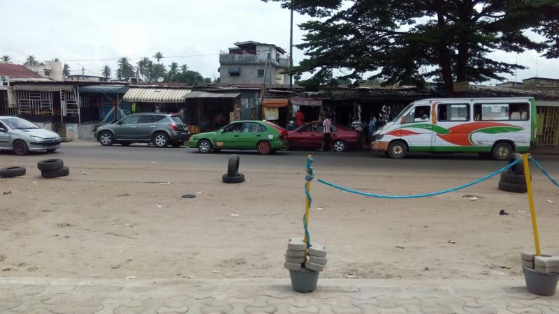 un aspect très populaire de la ville que j'apprécie fortement dans la commune de Yopougon